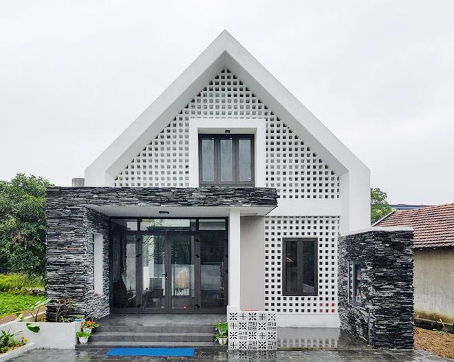 Biệt Thự anh Hùng – Quảng Bình sử dụng gạch thông gió