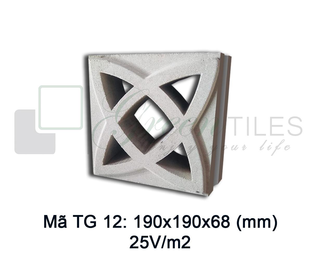 Gạch thông gió TG12